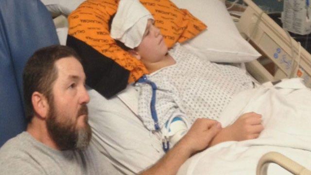 Shawnee Boy Battling Rare Form Of Prostate Cancer