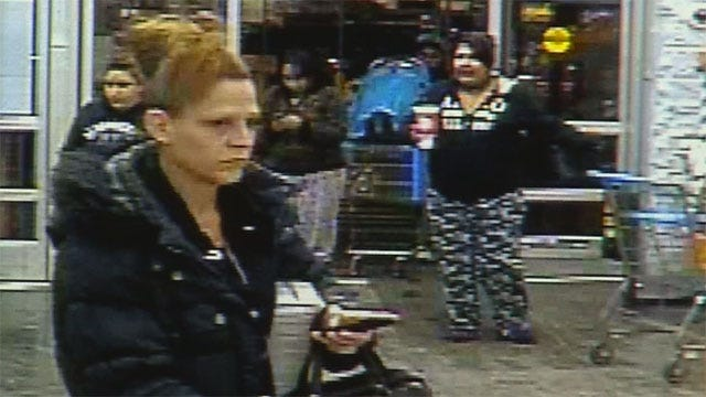 Camera Catches Woman Stealing Car From OKC Walmart