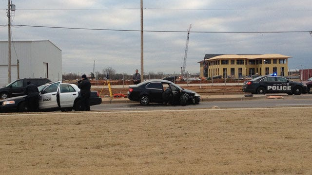 Officer Not Seriously Hurt In Crash In SW OKC
