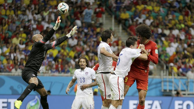 Belgium Knocks U.S. Out Of World Cup In Thriller
