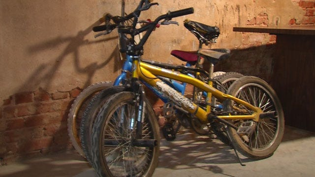 Program Gives Abandoned Bikes To Children In Pauls Valley