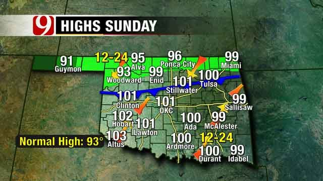 Oklahoma To See Record Breaking Cool Air Next Week