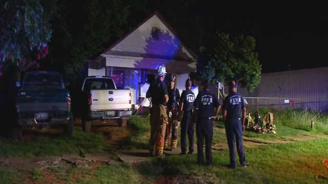 Crews Respond To House Fire Overnight In SE OKC