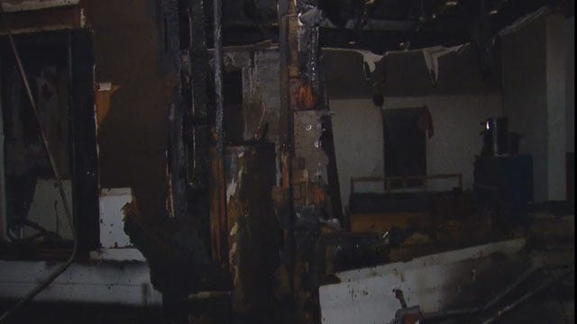 OKC Home Heavily Damaged In Early Morning Fire