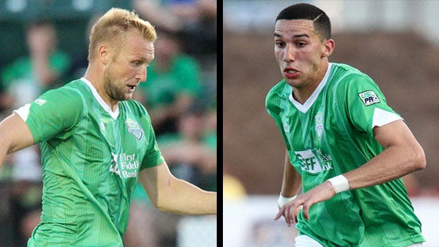 Djeziri, Evans Named To USL PRO Team Of The Week