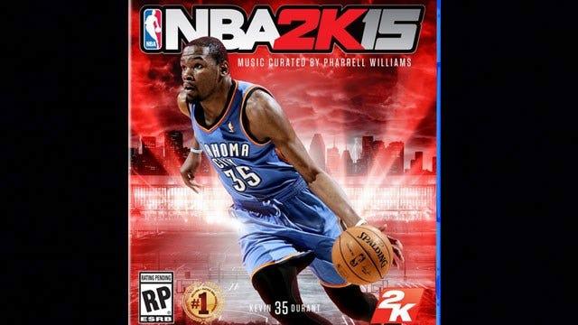 NBA 2K15 Releases Durant Cover Art