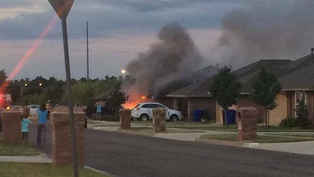 Firefighters Put Out House Fire In Norman