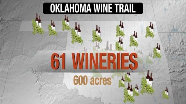 Oklahoma Wine Trails Created To Boost Tourism