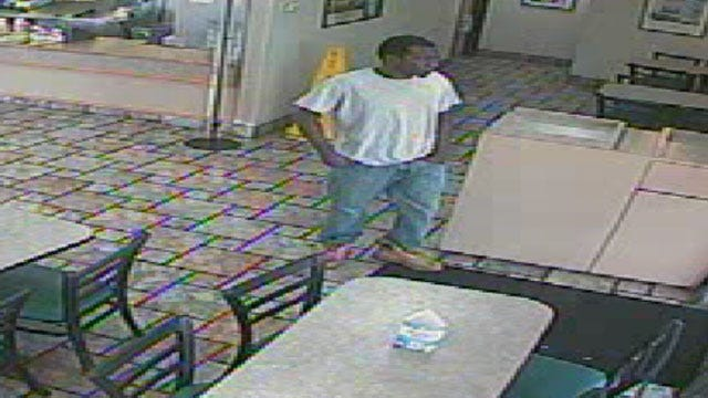 Police Seek Man Who Attempted To Rob NW OKC Restaurant