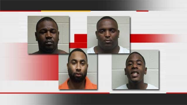 Four Men Arrested After Burglary, High-Speed Chase Through Metro
