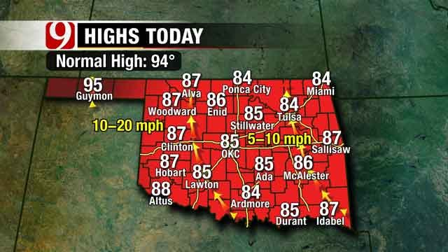 Sunshine Back In The Forecast For Oklahoma