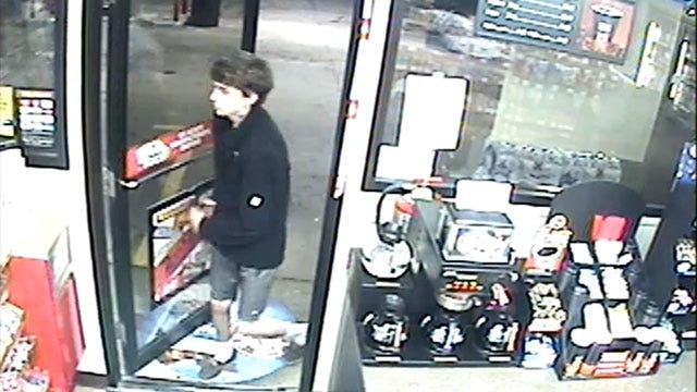 Caught On Camera: Man Steals Lottery Tickets From OKC Store