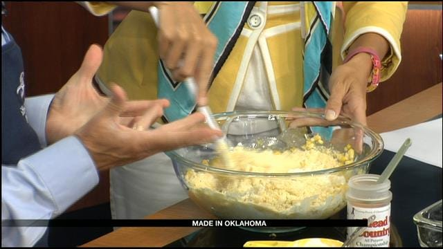MIO: Smoked Corn Pudding