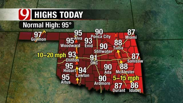 More Summer Heat On The Way For Oklahoma
