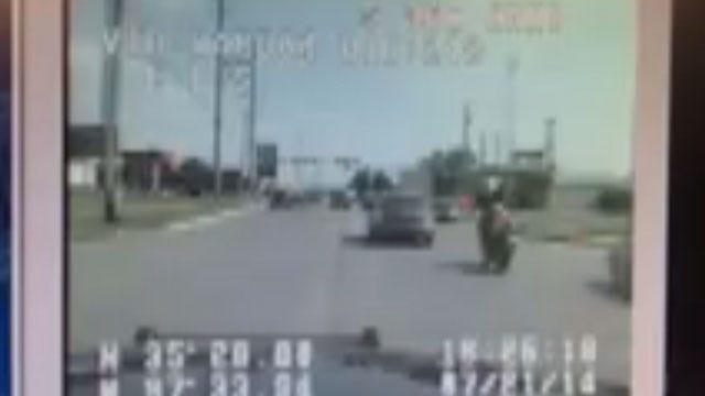 Dash Cam Footage Shows High-Speed Chase Around OKC