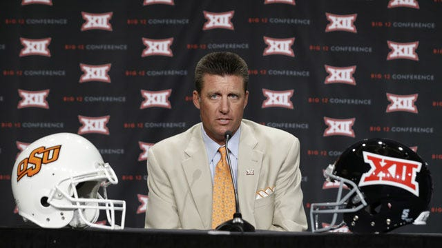 Oklahoma State Notes And Quotes From Big 12 Media Day