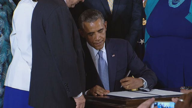 Oklahomans React To Executive Order Protecting LGBT Contractors