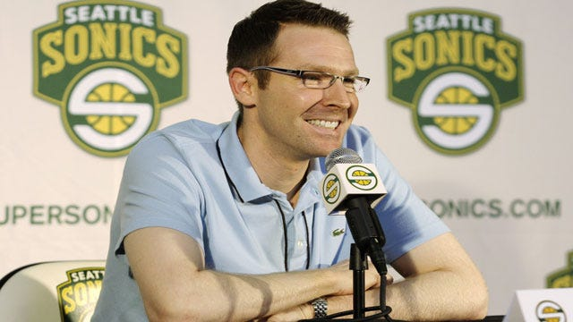 Reports: Thunder Declines Jersey Patch For Sonics' Title