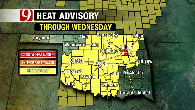 Summertime Heat Returns To Oklahoma