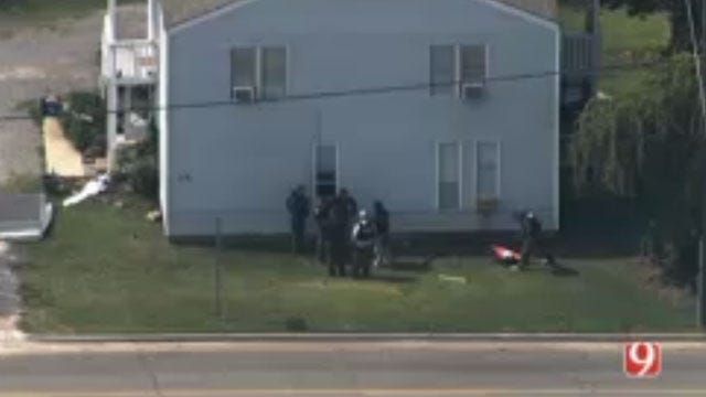 Suspect Arrested Following Shawnee Police Standoff