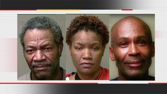 3 Arrested After OK Deputy Stops Truck Involved In Shoplifting