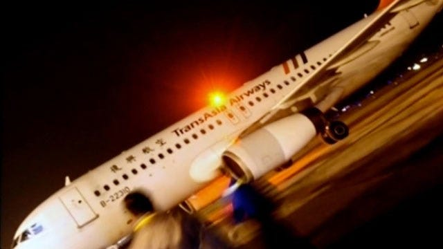 Deadly Taiwan Plane Crash In Stormy Weather