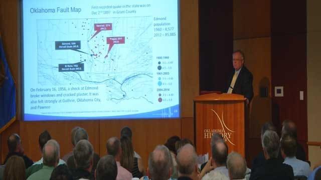 Oil Company Geologist Discusses Oklahoma Earthquakes