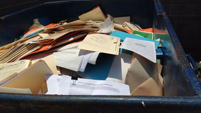 Payne County Treasurer Accused Of Dumping Sensitive Documents Into Dumpster