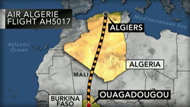 Air Algerie Plane Vanishes From Radar