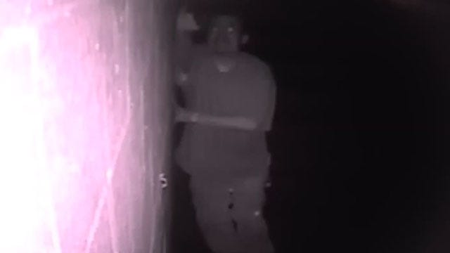 Caught On Tape: Man Steals Surveillance Camera From OKC Business