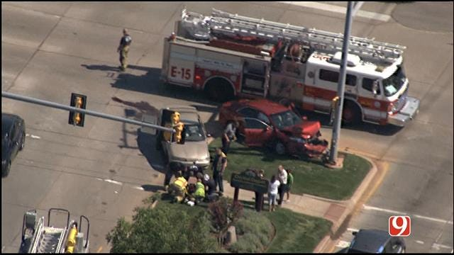 Crews Respond To Injury Accident In NW OKC