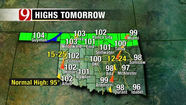 Heat Advisory In Effect Through Sunday For Most Of Oklahoma