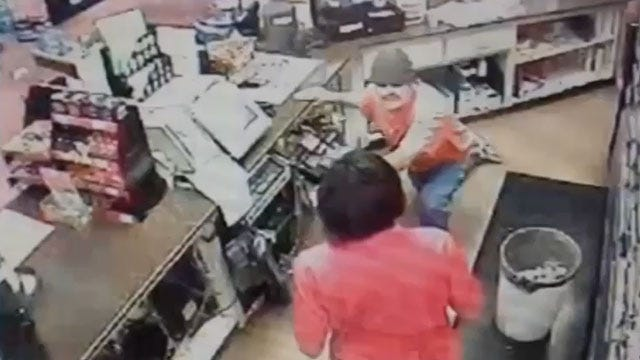 Police: Man Caught On Camera Robbing OKC Convenience Store
