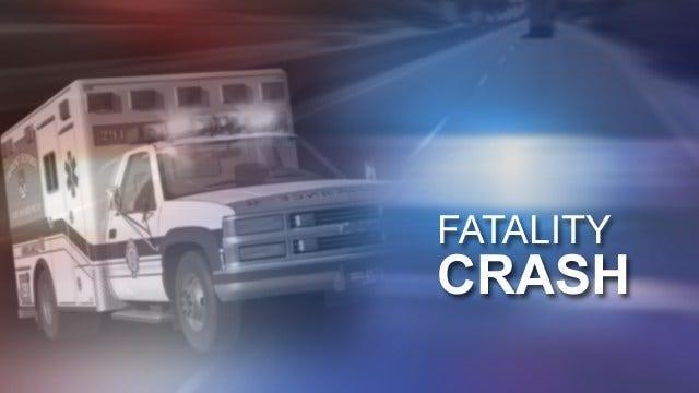 Fiery Crash Kills Man In Caddo County