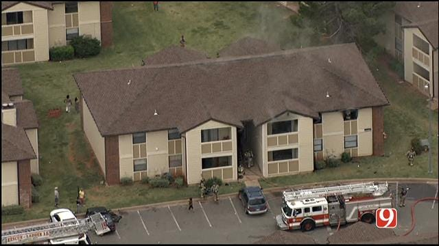 Crews Contain Apartment Fire In NW OKC