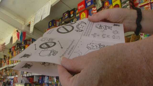 Fireworks Stand Teaching 4th Of July Safety