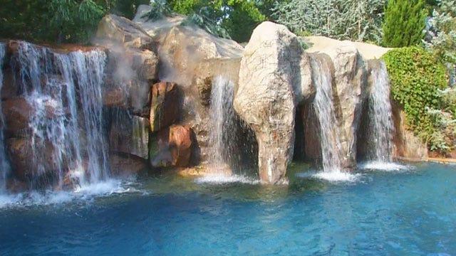 High Dollar Dives: OKC Pool Featuring Swim-Up Bar