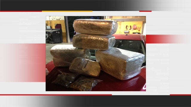 Huge Pot Bust Made After Traffic Stop In Oklahoma City