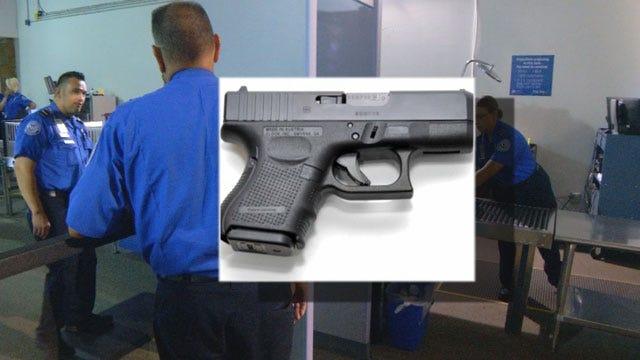 Loaded Guns Discovered At Oklahoma Airports