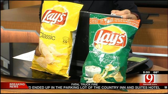 At The Same Price, Some Potato Chip Bags Have Fewer Chips Inside