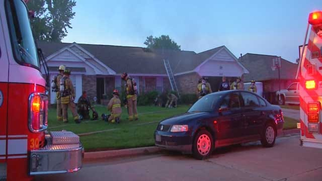 Crews Put Out House Fire In NW OKC