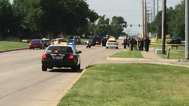 One Suspect Dead, Another In Custody After Officer-Involved Shooting In Norman