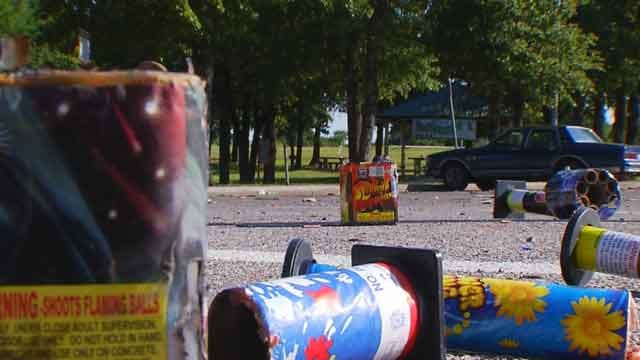 Oklahoma City Firefighters Assaulted With Fireworks