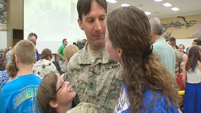 About 80 Soldiers Return To Oklahoma From Afghanistan
