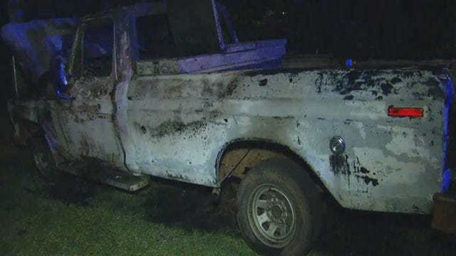 Officials: Two Vehicle Fires Intentionally Set In SE OKC