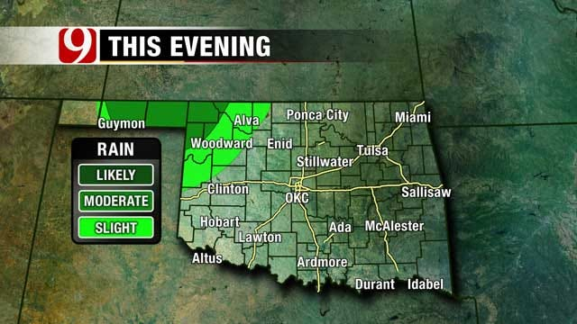 Chance For Large Hail, Damaging Winds In NW Oklahoma