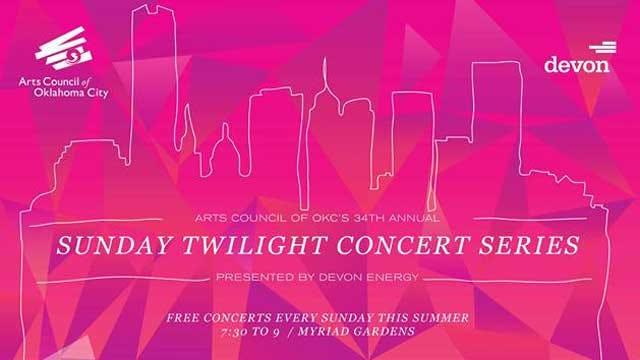 OKC Arts Council Announces 34th Annual Sunday Twilight Concert Series