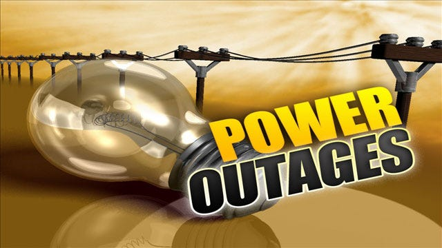 Power Outages Expected Tuesday In Cushing