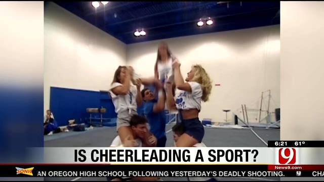Is Cheerleading A Sport? AMA Says 'Yes'