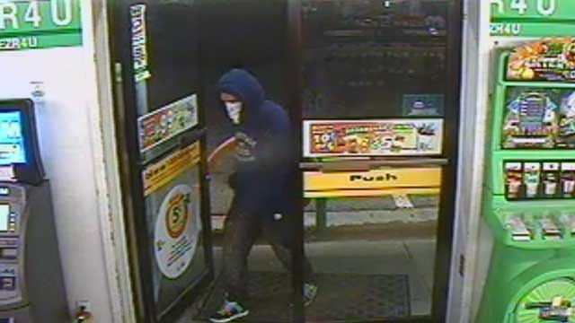 Shawnee Police Search For Armed Robbery Suspect